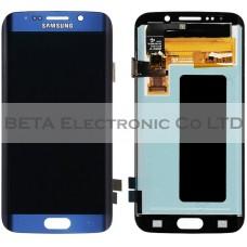 Samsung Galaxy S6 Edge SM-G925 LCD Screen - Samsung Service Pack - Black